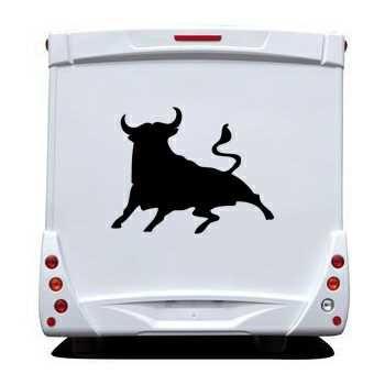 Schablone Camping Car El Toro Bull Spanien