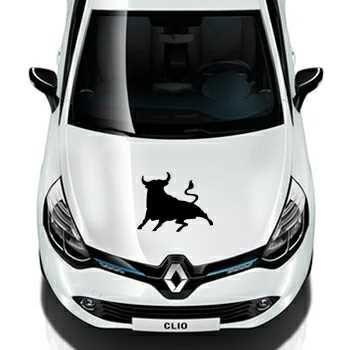 Pochoir Renault El Toro Taureau Espagne