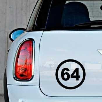 Stencil Mini Circle 64 French department Pyrénées-Atlantiques