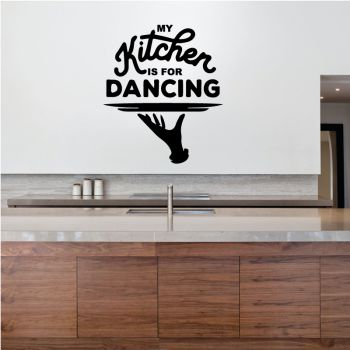 Decal My kitchen is for dancing