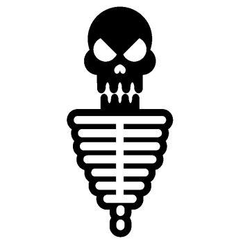 Decal Skeleton Skull