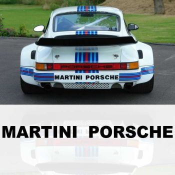 Decal Martini Porsche