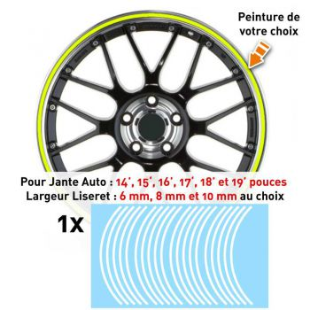 Decal Car Wheel Rim Stencil paint