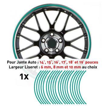 Decal Car Wheel Rim Mint green