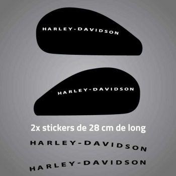 Kit of 2 Harley Davidson Tank Decals