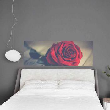 Headboard Decal Rose Flower