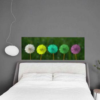 Sticker Tête de Lit Fleurs Taraxacum