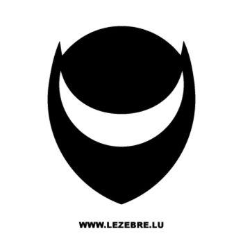 Pochoir Helmo Logo III