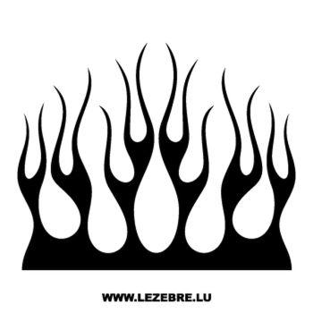 Pochoir Déco Flamme 137