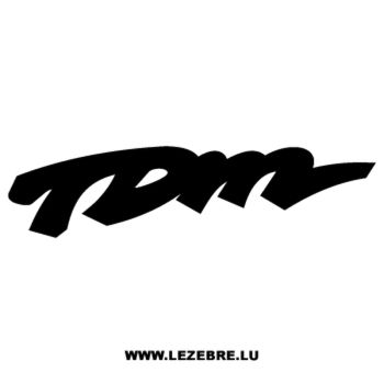 Schablone Yamaha TDM