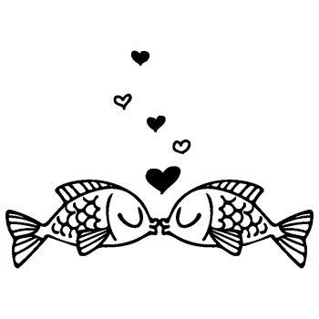 Loving Fish Decal