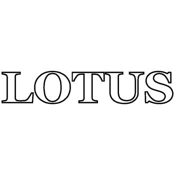 Sticker Lotus Contour Logo