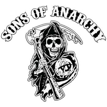 Sticker Sons Of Anarchy Decal