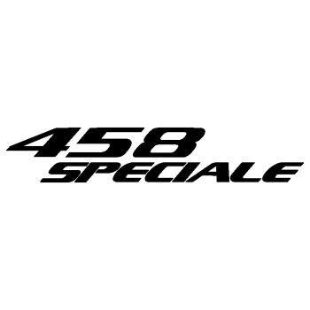 Ferrari 458 Speciale Decal