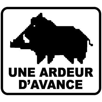 Sticker Autocollant Une Ardeur D'Avance