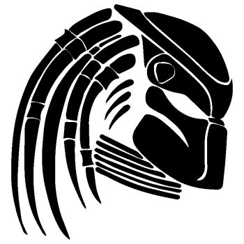 Sticker Autocollant Predator
