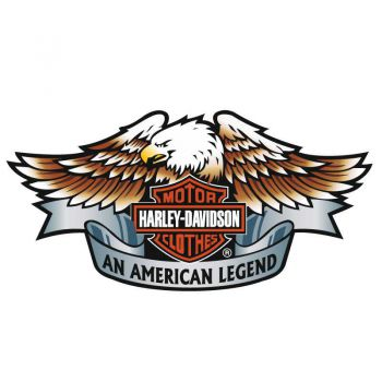 Decal Harley-Davidson American Legend Motorcycles Sticker
