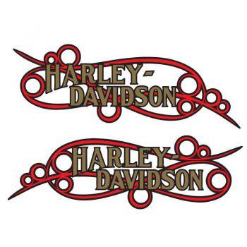 Harley-Davidson Tank Decal Vintage