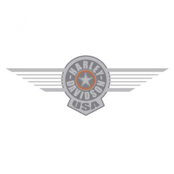 Harley-Davidson Reservoir USA Grey Decal