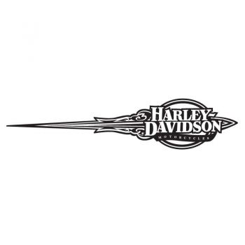 Harley Davidson Motorcycles Ornament Reservoir Decal