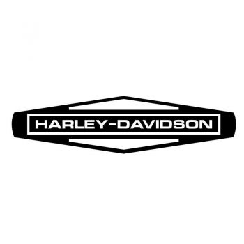 Sticker Harley Davidson Motorcycles Signature