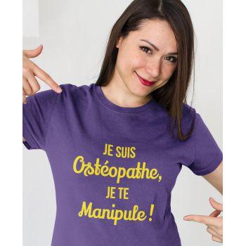 Tee Je Suis Ostéopathe, Je Te Manipule !