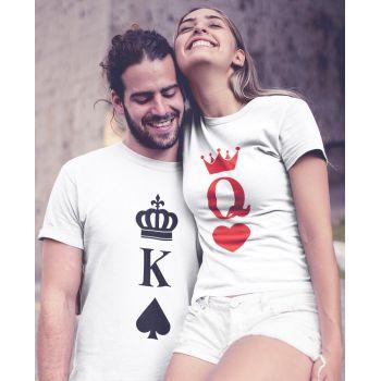 Tee-shirt Femme Reine Couronne (Queen)