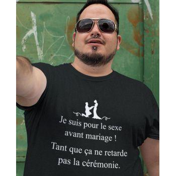 Tee-shirt Pour Le Sexe Avant Le Mariage !