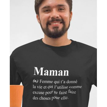 Tee Humour Définition Maman