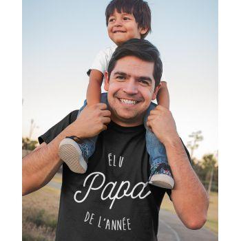 Tee-shirt Élu Papa de l'Année