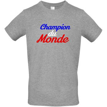 Tee France Champion du Monde