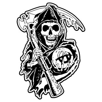 Sons Of Anarchy Reaper Decal