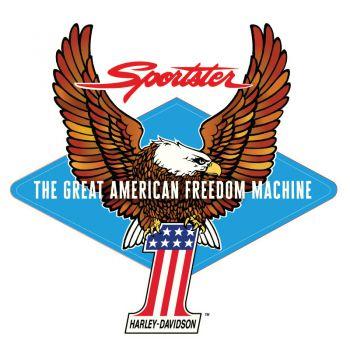 Harley Davidson Sportster Eagle 1 Decal