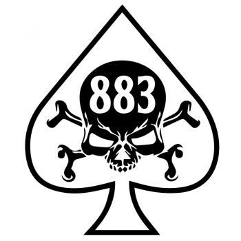 Harley Davidson Sportster 883 Decal
