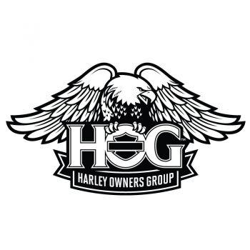 Harley Davidson HOG Decal