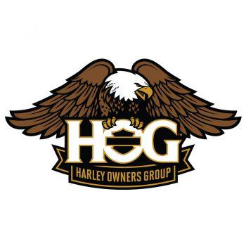 Sticker Harley Davidson HOG Couleur ★