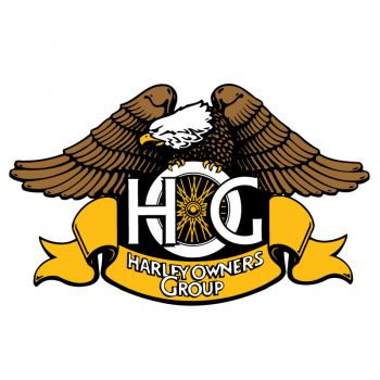 Sticker Harley Davidson HOG Aigle ★