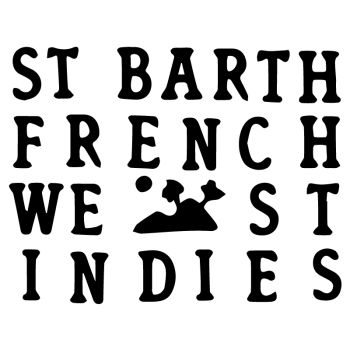 St Barth French West Indies Aufkleber