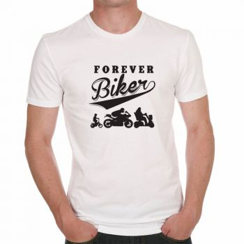 """Tee shirt """"Forever Biker"""""""