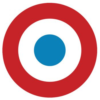 Sticker Cocarde républicaine française ★
