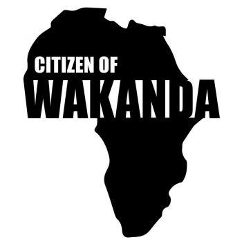 Black Panther - Citizen Of Wacanda Decal
