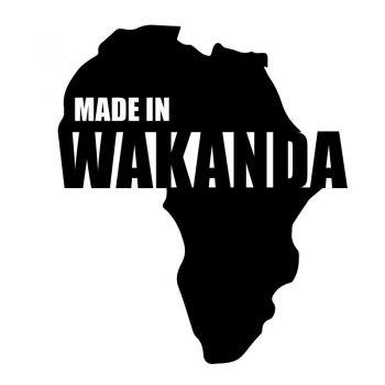Black Panther - Made In Wacanda Decal