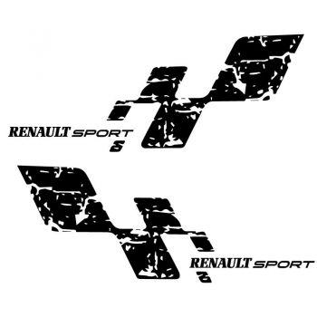 Kit Sticker Renault Sport Damiers