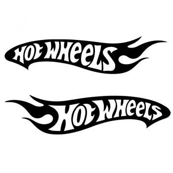 Set Sticker Hot Wheels Decals