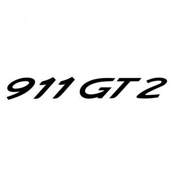 Porsche 911 GT2 Decal