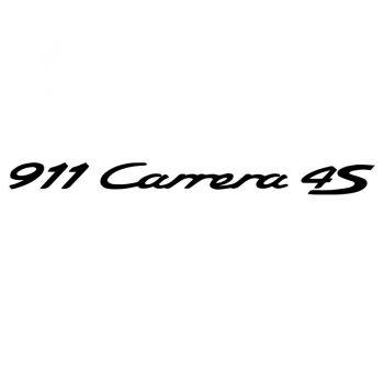 Aufkleber Porsche 911 Carrera 4S