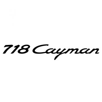 Porsche 718 Cayman Decal