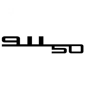 Porsche 50 Years of 911 Special Edition Decal