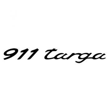 Sticker Logo Porsche 911 Targa