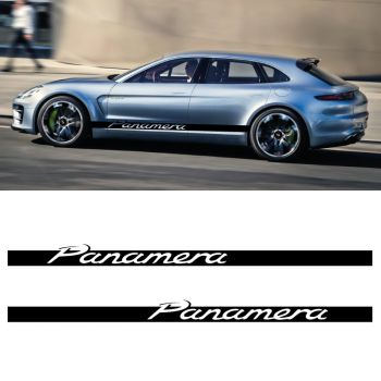 Car Side Stripes Decals Set Porsche Panamera